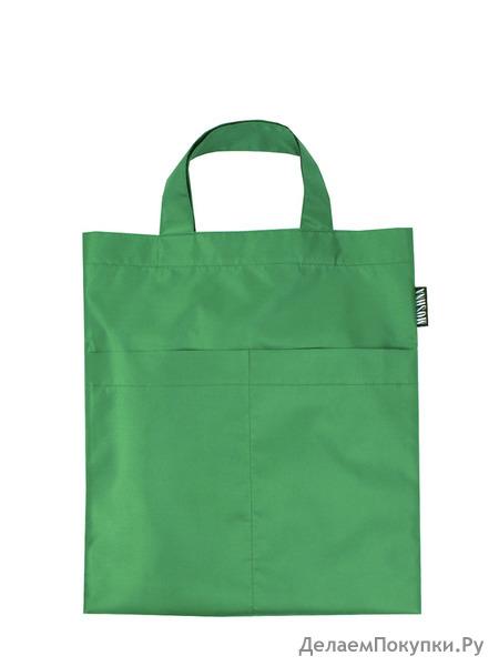 Модель 6 Маленькая сумка, цвет ЗЕЛЕНЫЙ ПОЛНОСТЬЮ!!!!