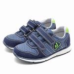 Летние кроссовки Nordman Jump синие, экокожа