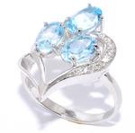 Серебряное кольцо, артикул 21vsffa00428-19