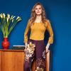 Комплект женский с брюками длинный рукав