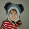 "Детская меховая шапочка ""Ляся"" мех мутон. Цвет голубой Подробнее: https://xn-----7kcgobxpmiohaje2czb8cyc.xn--p1ai/p244272589-detskaya-mehovaya-shapochka.html"