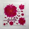 Наклейка на выключатель Розовый цветок