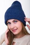 шапка 56-58 см подклад флис, паетка Шерсть 50% - Акрил 50%