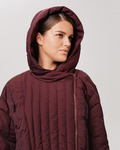Женское пуховое пальто 18-949