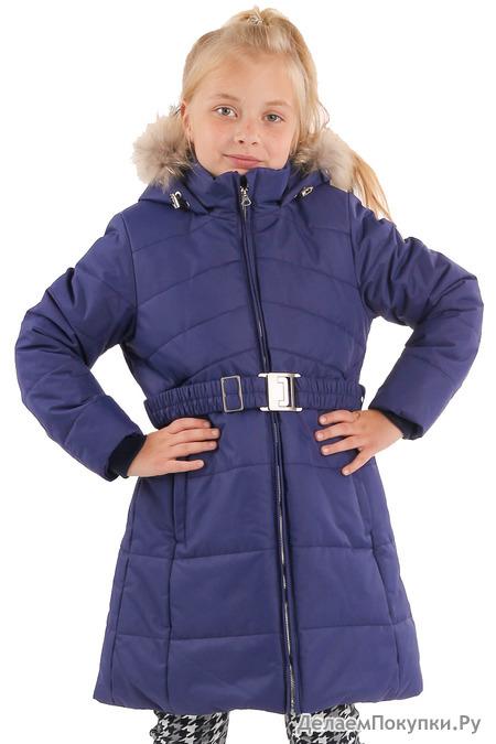 "228-20з Пальто для девочки ""Юнона"""