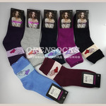 Носки женские внутри махровые DMDBS арт. B211.Упаковка 12 пар