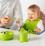 МАТА Набор посуды, 4 предм, зеленый
