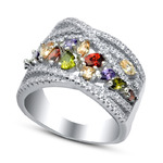 Серебряное кольцо, артикул 01qrgmi02345mix-19