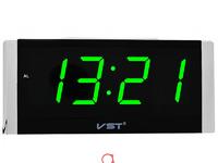 VST731-4 часы 220В зел.цифры-30 адаптер+USB кабель оптом