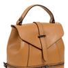 Сумка-рюкзак женская из телячьей кожи Артикул: TB-507-7 Cuoio Lucertola