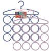 Вешалка для шарфов и платков, 12 колец 2цв NEW Мультидом ML-VL26-66