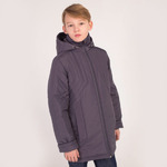 Куртка демисезонная для мальчика, модель ДП99 цвет туман