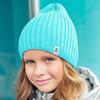 Комплект (шапка+снуд) для девочки, хлопок, р-ры 52-54