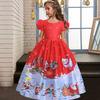 Детское платье на новый год (Код: Mon028) 5-14 лет
