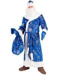 3012 к-19 Дед Мороз синий взр