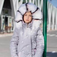 "Зимняя куртка для девочки ""ZKD-14"" (рост 152 см)"