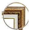 Рама для папертоль с прозрачным дном  ГАРДИН цвет: бронза