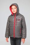 Куртка подростковая демисезонная СМП-01 графит
