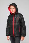 Куртка подростковая демисезонная СМП-02 черный