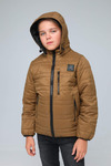 Куртка подростковая демисезонная СМП-02 горчица