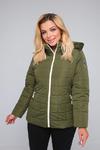 Куртка женская демисезонная ДМВ-04 хаки