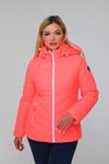 Куртка женская демисезонная ДМВ-02 живой коралл