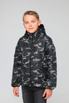 Куртка подростковая демисезонная СМП-04 камуфляж