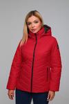 Куртка женская демисезонная ДМВ-02 красный