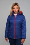 Куртка женская демисезонная ДМВ-01 синий