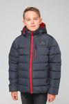 Куртка подростковая зимняя ЗМП-01 темно-серый