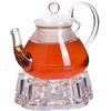 Чайник стекло 600мл+ подогрев,сито МВ (х16) Mayer & Boch 29349