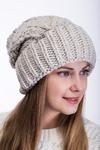 шапка 56-58 см подклвд флис Шерсть 50% - акрил 50%