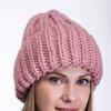 шапка 56-58 см двухслойная, подклвд флис Шерсть 50% - акрил 50%