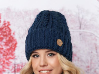Комплект «Агнес» (шапка, хомут и перчатки)