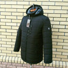 Куртка мужская зимняя черная на меху М-62A Цвет: хаки, чёрный, синий; Размер: 50, 52, 54, 56, 58, 60, 62