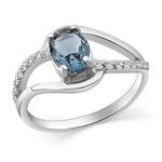Кольцо серебряное 925 Артикул:10-0202 лд