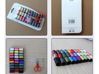 Швейный набор в блистере 30 цветов ниток