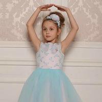 """Платье для девочки """"Балерина"""" (рост 146 см)"""
