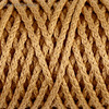 """Шнур для вязания """"Классик"""" без сердечника 100% полиэфир ширина 4мм 100м (горчичный)"""
