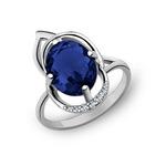 Кольцо серебряное 925 Артикул:10-0071 сап