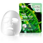 9 шт 3W Clinic Fresh Green Tea Mask Sheet – маска с экстрактом зеленого чая
