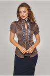 Блуза женская к/р