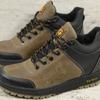 Мужские кожаные зимние кроссовки Jack Wolfskin  Код: СК 59