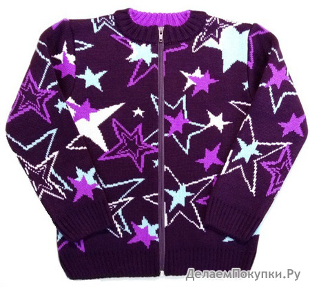 Жакет арт.791 цвет фиолет