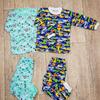 Детская пижама (артикул 50-64), футер