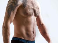Daitres боксеры удлиненные (Long), фирменная резинка, черные, бирюзовые швы