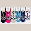 Носки подростковые для девочек удлиненные с кошками разных цветов арт.: A33 6 пар
