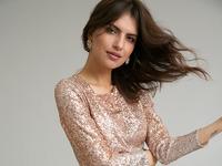 Платье с драппировкой PL952/sweetma