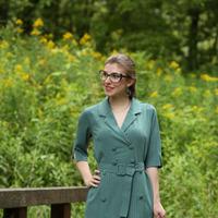 Платье 281-3 зеленое