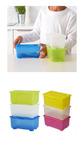 ГЛИС Контейнер с крышкой, 17x10 см - 2 варианта расцветок, набор из 3х контейнеров